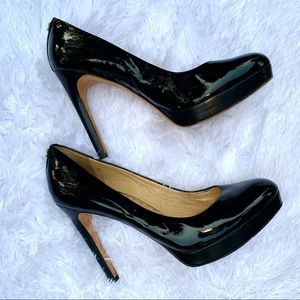 Coach patent Leather Platform Stiletto Heels